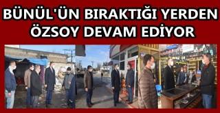 AK Parti Ceyhan İlçe Başkanı Sami Özsoy'un ziyaretleri aralıksız devam ediyor