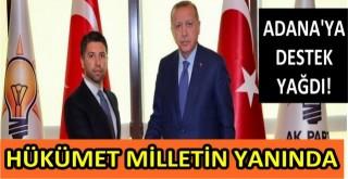 AK Parti İl Başkanı Mehmet Ay, Adana'ya yapılan destek ve yardımları açıkladı