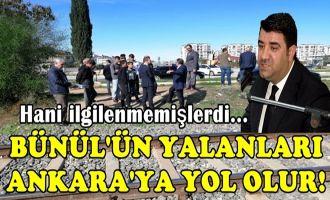 Ak Parti Ceyhan İlçe Başkanı Bünül yalanlarına devam ediyor