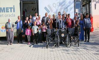 Büyükşehir'den engelli çocuklara özel bakım ve ihtiyaç sahiplerine tekerlekli sandalye…