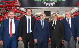 CTO Başkanı Can,13. Uluslararası Adana Tarım, Sera ve Bahçe Fuarları Açılış Törenine Katıldı.